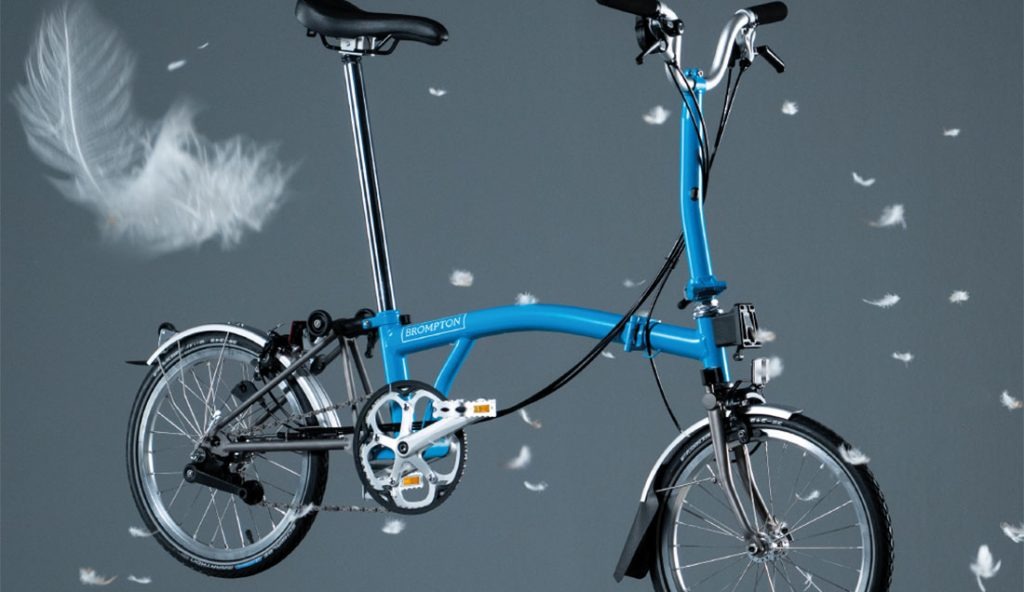 Bicicleta plegable superlight